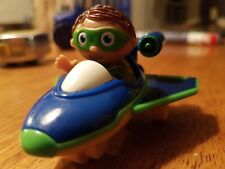 Rare PBS Kids Super Why Flyers Whyatt Wyatt Vehicle Airplane Plane Car Toy 2009