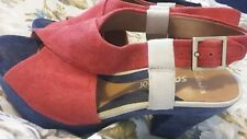 Clarks software multicoloured heels Size 4