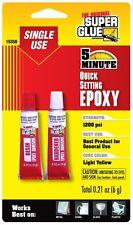 Super Glue Super Glue 15350-6 Quick Setting Epoxy, 6-Pack(Pack Of 6)