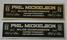 Phil Mickelson nameplate for signed golf ball photo or display case