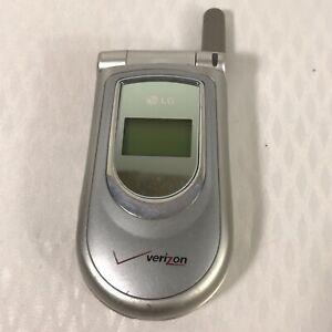 LG VX4500  Metallic Silver Cellular Phone Verizon