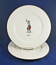 "DAYTON HUDSON AMERICAN COLLECTION - Dinner Plate (Liberty) 10 3/4"""" SET OF 2"