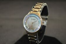Citizen Circle Of Time Eco-Drive Silver Stainless Steel Ladies Watch EM0380-65D