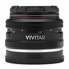 Vivitar 50mm f/2.0 Lens for Sony E Mount Mirrorless Digital Camera