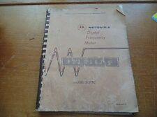 Motorola S 1075c Frequency Meter Manual