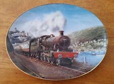 Bradford Exchange Collector Plate Barry Freeman's Holiday Lines - Devon Sunlight