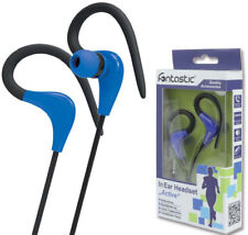 In-Ear Stereo Headset Active für CATERPILLAR S40 / S41 / S50 / S60 in blau