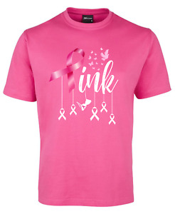 'Pink' breast cancer tee