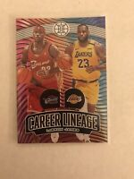 2019-20 Panini Illusions LeBron James #/199 RARE SSP Career Lineage