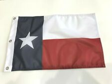 """New listing 12x18 12""""x18"""" State of Texas Lone Star Boat Car Bike Flag Banner fade Super Poly"""
