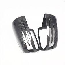 for Mercedes Benz E-Class W212 car mirror cover ABS + carbon fiber Replacement