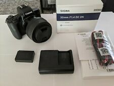Canon EOS M50 Mirrorless Digital Camera with Sigma 30mm f/1.4 DC DN Lens Kit