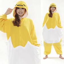 JAPANESE Authentic Sanrio GUDETAMA Kigurumi Onesie Costume Fleece Fabric Uni-sex