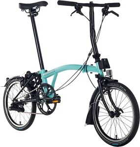 Brand New Brompton S6L Turkish Green Black Edition 🌎 Shipping - TRUSTED SELLER