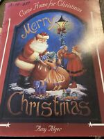 Vintage Decorative Tole Painting Book: Come Home for Christmas by Amy Alger Book