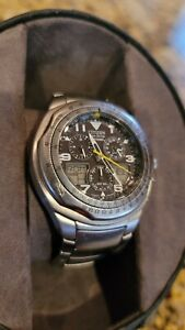 Citizen Eco-Drive Skyhawk C650-Q02128 Stainless Steel Men's Watch