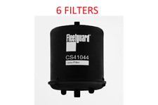 (Case Of 6) Cs41044 Fleetguard Oil Filter Bc7326 For Paccar Mx12.9L Engines