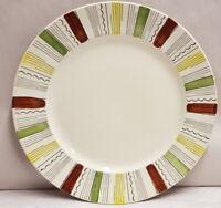 Broadhurst Ironstone Kathie Winkle Mandalay Pattern Plate c1963 Made in England
