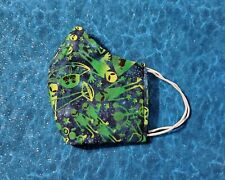 New listing Washable Handmade Fabric Face Mask filter pocket Ufo And Aliens