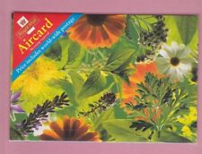 Great Britain, Aircard for world-wide postage, Pre-paid envelope Flowers & Herbs