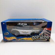 Hot Wheels Cop Rods '32 Ford Sedan New Orleans Police 1:24 NIB Police Cruiser