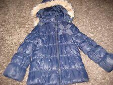 Ragazze Blu Navy Cappotto Invernale Età 5 H & M