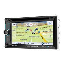 "Power Acoustik Pdn-623B Double 2 Din Cd/Dvd Player 6.2"" Gps Navigation Bluetooth"
