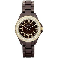 Fossil Quartz (Battery) Ceramic Case Wristwatches