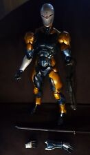 Cyborg ninja play arts kai figure gray fox metal gear solid snake konami