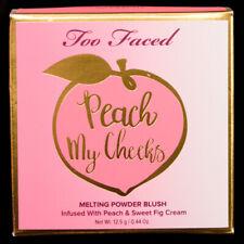 Too Faced Peach So Peachy Peaches & Cream Melting Powder Blush NIB