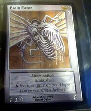 SHADOWFIST 1995 BRAIN EATER Rare FOIL Chase Card Artwork by DANIEL GELON