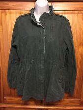 Elle Ladies Green Long Sleeve Jacket - Size Large EUC