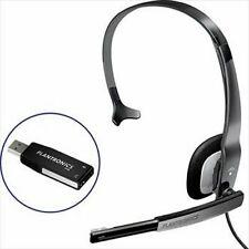 New Plantronics Audio 610 USB Headset 76805-04