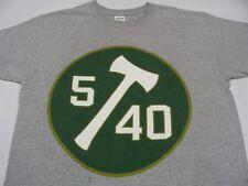 PORTLAND TIMBERS - MLS - 5/40 - JELD WEN PROMO - GRAY - MEDIUM SIZE T SHIRT!