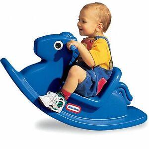 Little Tikes: Rocking Horse - Blue
