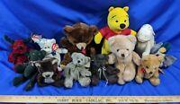 HUGE LOT Russ Teddy Bear Xmas VTG Tag Winnie The Pooh Mattel 80s-90s Toys