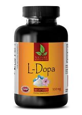 L-Dopa 99% Extract Powder 350mg Mucuna Pruriens Seeds Promote Dopamine 60 Pills
