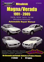 SHOP MANUAL DIAMANTE SERVICE REPAIR MITSUBISHI BOOK 1991-2005 MAGNA VERADA GUIDE
