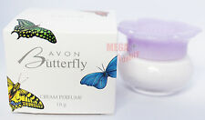 AVON Butterfly Cream Perfume Fragrance Softener New In Box For Gift 18g.
