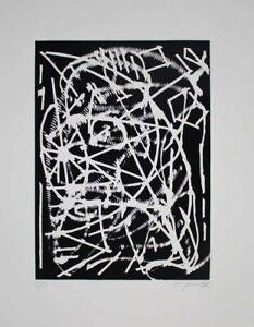 A.R. Penck - Nacht - Lithografie - handsigniert und nummeriert