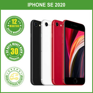 New Apple iPhone SE 2020 Unlocked 64/128/256GB Black White Red FREE EXPRESS