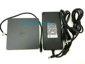 Genuine Dell Thunderbolt Docking Station TB16 with 240W Adapter