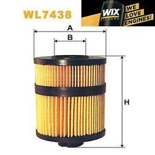 1x Wix Filtro de Aceite WL7438