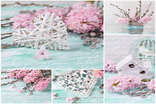 BEAUTIFUL SHABBY CHIC CANVAS PICTURE #21 STUNNING FLORAL HOME DECOR A1 CANVAS