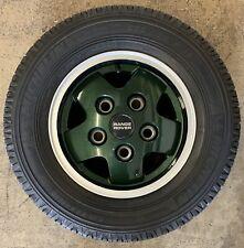 "Genuine Range Rover Classic CSK LSE 16"" 5 Spoke Alloy Wheels & Tyres x5"