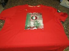 Puma Mexico Soccer T-Shirt - Red - Large