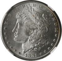 1881-S Morgan Silver Dollar NGC MS65 Pretty Toning Nice Strike