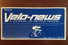 "Velo-News Dealer Sticker; 3.75""x 7.5"""
