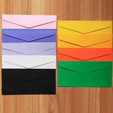 20pcs Colorful Paper Envelopes 220*105mm Party Gift Wedding Letter Invitations