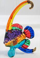 Handmade Lovely Bannerfish Art Glass Blown Sea Animal Figurine